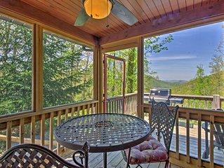 Bryson City Cabin w/ Private Spa & Mountain Views!