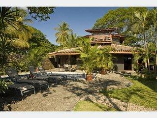 Exotic 5 bedroom beachfront Villa