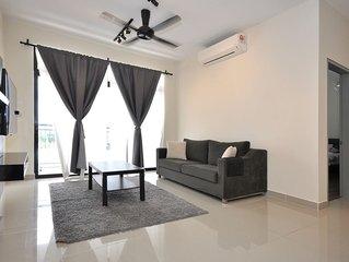 A Cozy Condo in Putrajaya with 3 Bedrooms