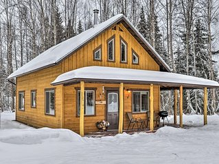 Peaceful and conveniently located fishing cabin near Kenai River