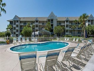 3 bedroom 3 bath 2 Level Condo w/ Gulf Access, Pool, Boat Slip and GulfView