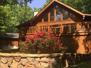 PRIVACY & SERENITY! STUNNING LAKE HOME AT BOULDER COVE WITH PRIVATE DOCK!