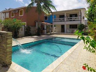 Casa em Tamandare com piscina 30m da praia