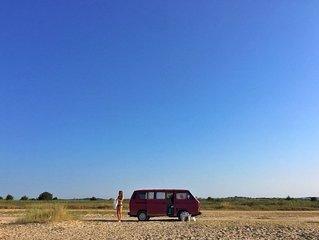 Redzo, a VW campervan from '81