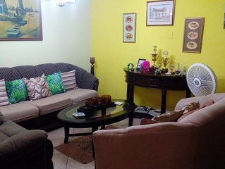The Illier's is a ' home away from home'. A Caribbean styled getaway