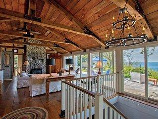 Extraordinary Oceanfront Cottage, light house views, 2 oceanfront master suites