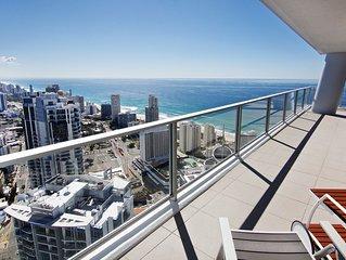 CRAZY LAST MINUTE DISCOUNTS Luxury Sub Penthouse 56th lvl Surfers