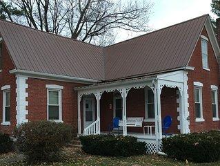Historic 1880 Folk Victorian Wooden Shoe Home