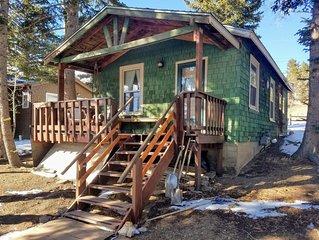 Charming Mountain Cabin In Town - Ski, Play or Getaway!