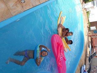 Casa em foz com piscina
