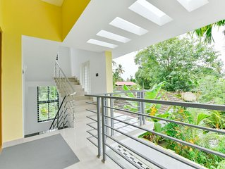 Luxurious 2 BHK house amid lush greenery and in a village like atmosphere.
