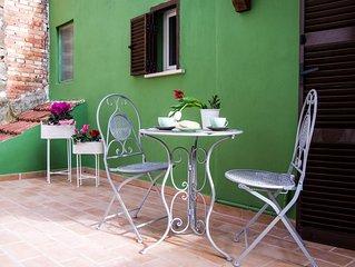 Elegant suite in the center of Viterbo