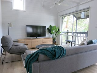 500 m to Terrigal beach and Village, professionally styled, home-away-from-home.