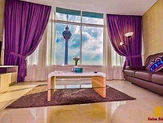 Saba Suites at Vortex KLCC Bukit Bintang