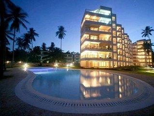 Beach Front Holiday Rental Apartment on Bamburi Beach, Mombasa