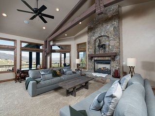 Luxurious Snowbasin Vacation Home - 5 Bedrooms, 5 Bathrooms, Sleeps 14