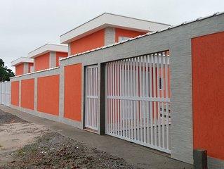 BORACEIA - 300 METROS DA PRAIA -  Apartamento aconchegante e totalmente novo