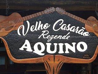 Velho casarao Rezende Aquino    Chacara das Mansoes  Campo Grande MSaida S Paulo