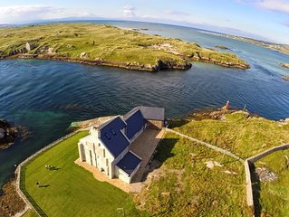 Idyllic getaway on a wild Irish island