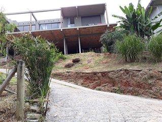 Casa aconchegante vista ao mar