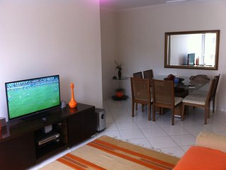 Guarujá - 3 dorm. em Pitangueiras,Wi-Fi,2 vagas de garagem,acomoda 10 pessoas