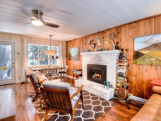 Pet Friendly Chic West Shore Cabin, Tahoe Pines HOA Pier Access