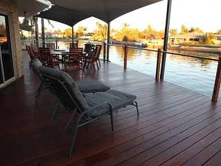 Waterfront Luxury Living in this well equipped and beautifully maintained home!