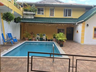 A 'get away' sanctuary nestled in the lush hills of Maraval.