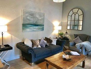 Luxury 2 bedroom ground floor apartment near Peak District