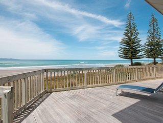Absolute beach-front holiday home