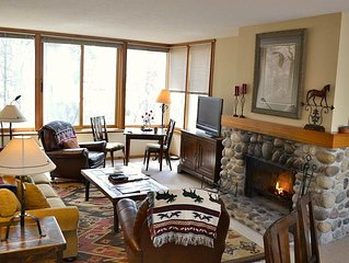 Yampa 2414: The Aspens -Beautiful Sunny First Floor Condo with Large Family Room