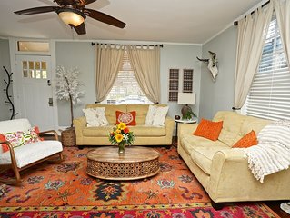 BEST NIGHT LIFE LOCATION! Historic Luxury Riverside home, Walk to bars and food