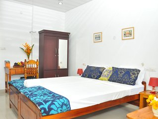 Homely atmosphere and fully furnished apartment