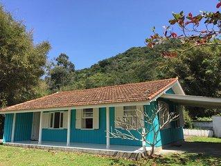 Casa em terreno em frente ao mar em Mariscal para 6 pessoas