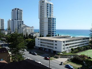 Large two bed apartment on Broadbeach