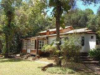 Casa da arte com jardim em Tiradentes