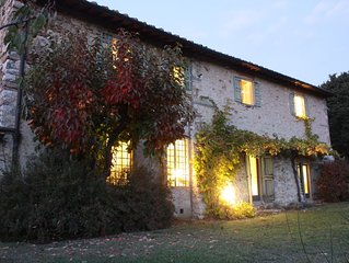 On Florence hills rustic and quite villa with stunning view