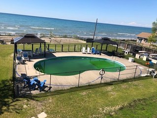 Beautiful Beach House with heated pool and Volley Ball Court!!!