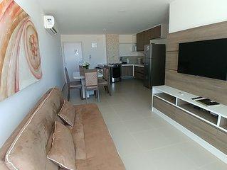 Amplo Apartamento 2/4 a Beira-mar