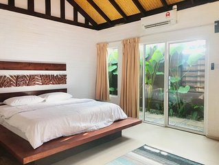 Villa Sawah, Langkawi with Private pool in secluded area.