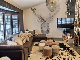 Chalet des Laurentides - Luxury chalet in the mountains