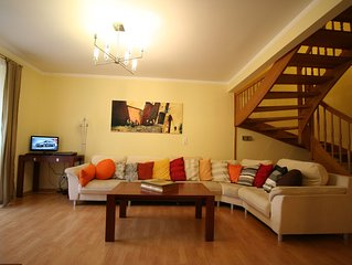 Spacious  3 bedroom apartment with parking