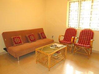 41) Serviced Apartment Ground Floor Near Baga Beach