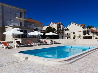 One Bedroom Apartment With Balcony, Pool, Sea View & Beachfront