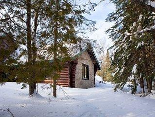 Tranquille et cozy: ideal pour un couple amoureux de la nature