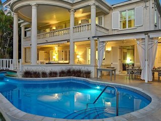*RIGHT ON PAYNES BAY BEACH WITH POOL* HEAVENS BEACH BARBADOS - BEST LOCATION