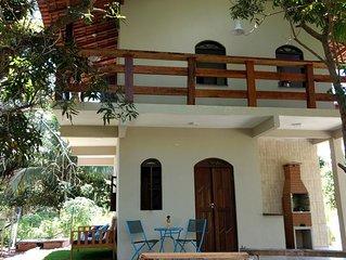 Acalmar Lua - Casa para 8 pessoas no centro de Barra Grande