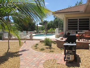 Key Colony Pool Home-Not too Soon to Book Christmas!  Small Dog Friendly!