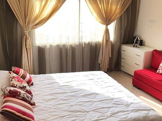 Beautiful flat in downtown Rabat (5min to the Hassan Tower)