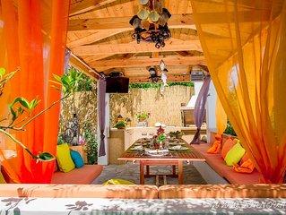 Villa Bali Bay only  50 m from sandy beach